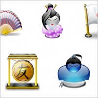Link toJapanese traditions icons pack