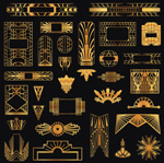 Link toJinyi decorative elements vector
