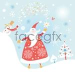 Link toJolly old santa claus vector