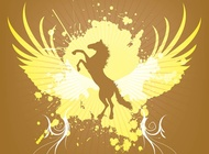 Link toJumping horse graphics vector free