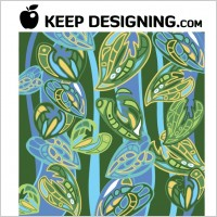 Link toJungle wallpaper pattern vector