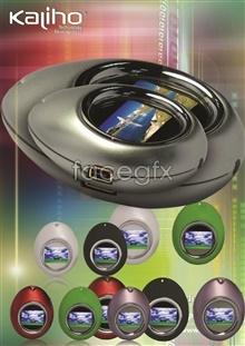 Link toKaliho-media player advertising psd