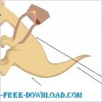 Link toKangaroo and pouch