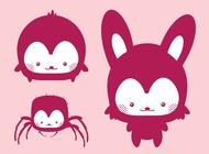 Link toKawaii vector animals free