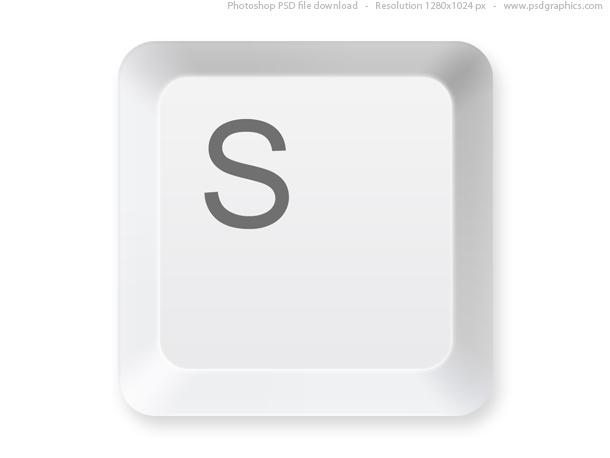 Link toKeyboard button psd template
