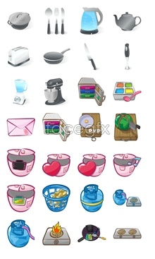 Link toKitchen tool icons