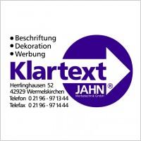 Link toKlartext jahn werbetechnik logo