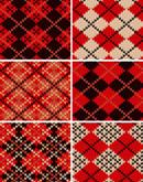 Link toKnitting pattern vector