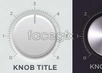 Link toKnóbz knobs ui kit psd