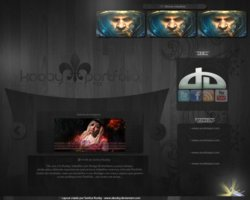 Link toKooby portfolio v1.2 black