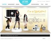 psd page agency Korea