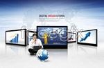 Link toKorea business technology psd
