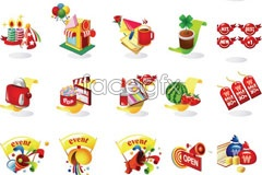 Link toicons vector sales christmas Korea