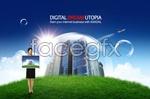 Link toKorea green business psd