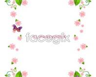 Link tograph design vector lace Korea