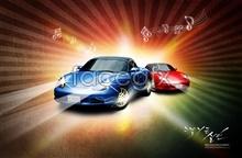Link toKorea limousine advertising templates psd