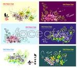 Link toKorea pattern background vector