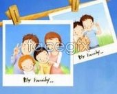 Link toKorea photo children's drawing style psd