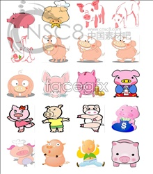 Link toKorea pig chinese zodiac series icons