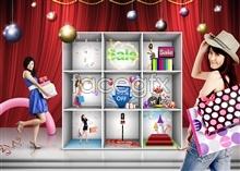 Link toKorea shopping festival psd