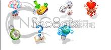 icons desktop style Korea