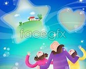 Link toKorea vector warm family