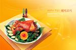 Link toKorean pig feet package psd