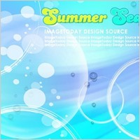 Link toKorean style summer background layered psd 1