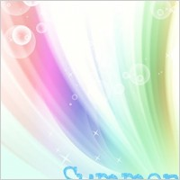 Link toKorean style summer background layered psd 3