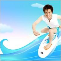 Link toKorean style summer background layered psd 6