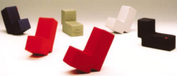 Link toL-shaped chair of the creative arts 3d model