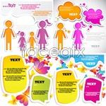 Link toLabels cartoon backgrounds vector