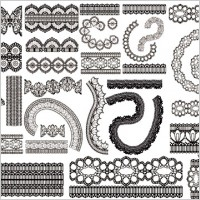 Link toLace lace pattern vector 2