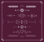 Link toLace white pattern vector
