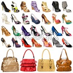 Link toLadies shoes and sachets psd