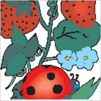 Link toLadybug on leaf 2