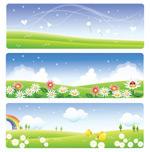 Link toLandscape banner vector