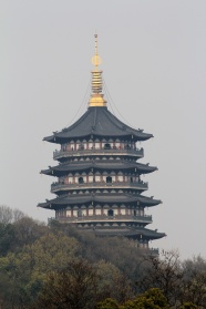 Link toLandscape of hangzhou leifeng tower pictures