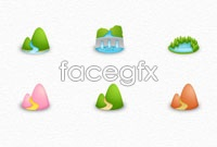 Link toLandscapes icons psd