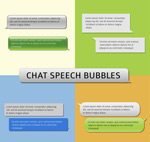 Link toLanguage chat bubbles vector