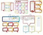 Link toLanguage sticker box vector