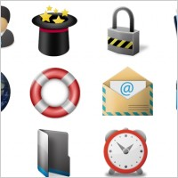 Link toLarge toolbar icons icons pack