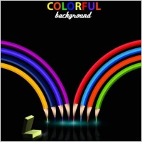 Link toLead creative design background color vector 3