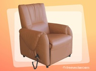 Link toLeather armchair vector free