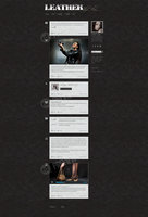 Link toLeather style blog - free tumblr psd