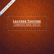 Link toLeather textures pattern background graphic 03 vector