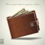 Link toLeather wallet design vector 02 free