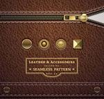 Link toLeather zipper design vector