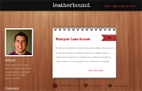 Link toLeatherbound tumblr theme psd