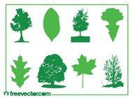 Link toLeaves and trees vector free